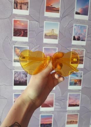 Необычные очки сердца сердечки