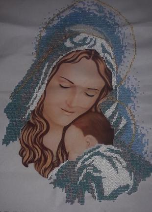 Ікона марії з немовлям