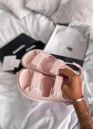 Шикарные женские летние сандалии розовые💗