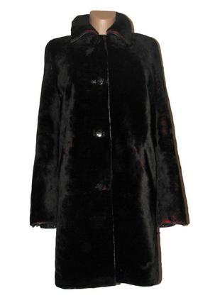 Шуба мутоновая пальто р.m
