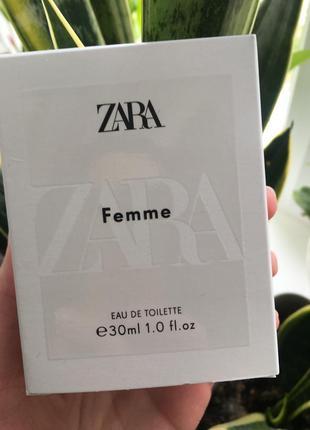 Туалетна вода zara femme 30ml