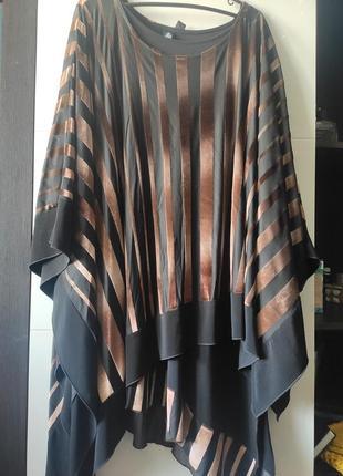 Платье нарядное балахон 2 в 1