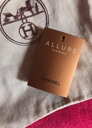 Chanel allure homme парфюм оригинал