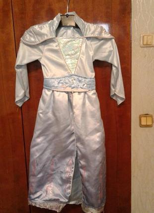 Детский карнавальный костюм эльзы из м/ф холодное сердце2 на 3 года