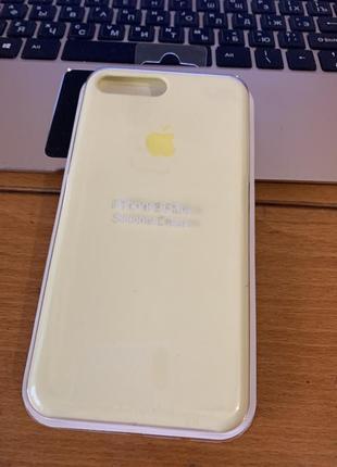 Чехол на iphone 7 plus 8 plus silicone case