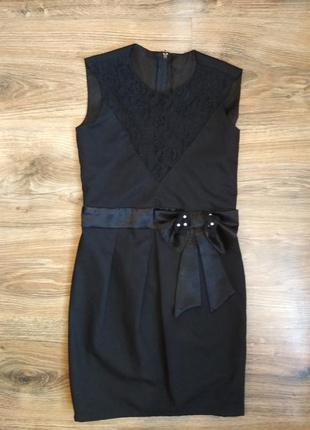 Школьное платье сарафан на 128-134 см.
