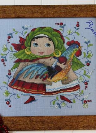 Картина, ручна вишивка