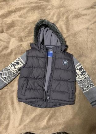Жилетка куртка на 1-2 года