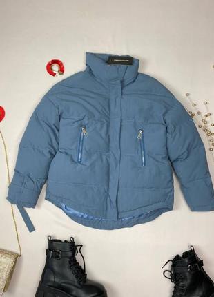 Серая курточка на синтепоне prettylittlething
