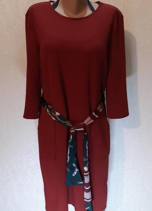 Платье базовое zara