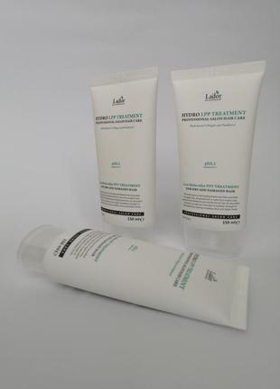 ... екстра-відновлювальна маска для пошкодженого волосся lador eco hydro lpp treatment 150 ml