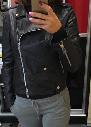 7b0814699bf0 Кожаная куртка imperial Imperial, цена - 4800 грн,  7540893, купить ...