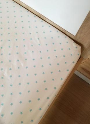 Простынь на детскую кровать, ручная работа