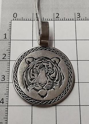 Кулон тигр из серебра 925 пробы арт. 970218328