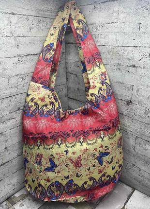 Летняя сумка, легкая, шопер, пляжная торба, шоппер, ліня, легка