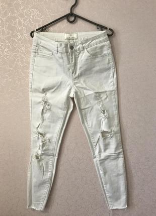 Рваные джинсы pieces