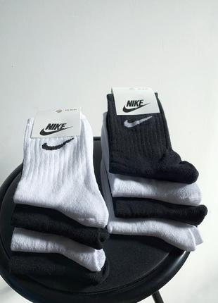 Спортивні носки nike / высокие спортивные носки nike