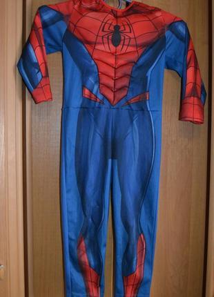 Карнавальный костюм человек паук на 2-3 года, 3-4 года, костюм спайдермен