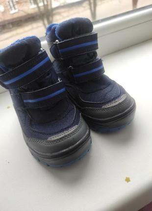 Термо ботинки деми демисезонные lupilu сапожки
