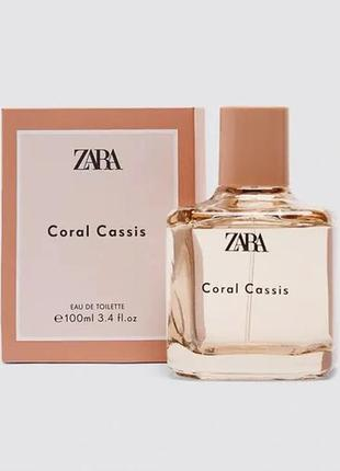 Духи zara coral cassic