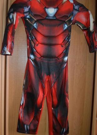 Карнавальный костюм железный человек на 3-4 года