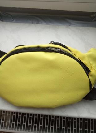 Бананка сумка на пояс і через плече чоловіча жіноча