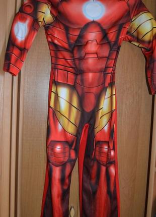 Карнавальный костюм железный человек на 5-6 лет