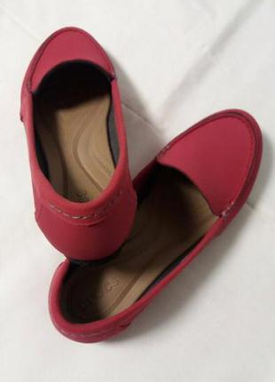 Мокасины crocs marin colorlite loafer 40, красные