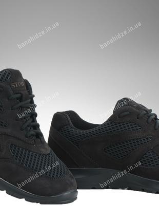 Тактические кроссовки / летняя военная обувь, армейская спецобувь sicario (черный)
