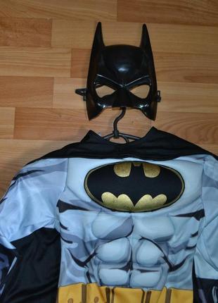 Карнавальный костюм бетмен на 5-6 лет