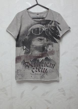Тонкая, мягкая футболка, 42-44-46?, хлопок, key largo