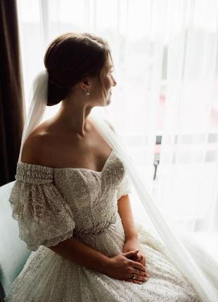 Продам весільну сукню millanova2 фото