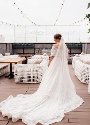 Продам весільну сукню millanova3 фото