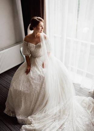 Продам весільну сукню millanova7 фото