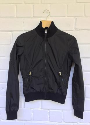 Бомбер куртка из плащевки на молнии broadwey xs/6/34.
