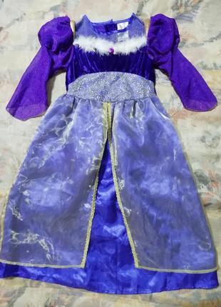 Карнавальное платье принцессы, волшебницы, феи на 3-4года