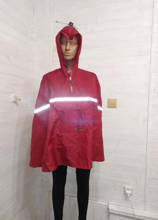 Кдассный детский дождевик со светоотражателями 116-128