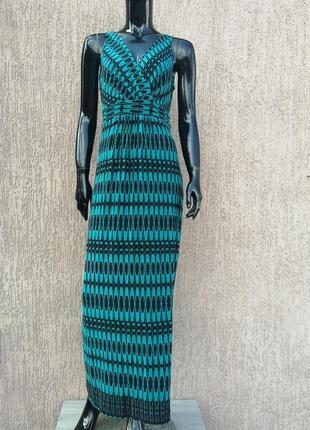 Довга сукня трикотажное платье вискоза bhs