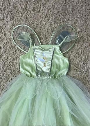Карнавальный костюм феи динь-динь, бабочки