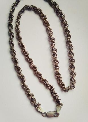 Серебряная цепь, италия 925