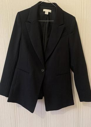 Удлинённый жакет пиджак h&m