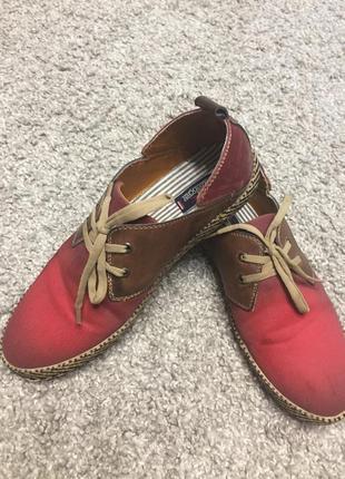 Симпатичные туфли макасины slazenger