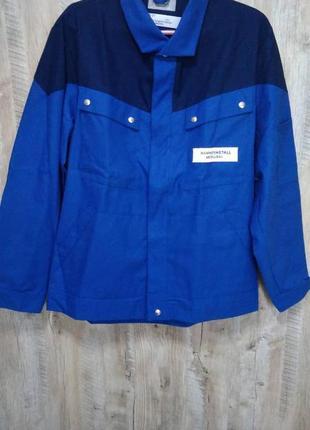 Новая рабочая джинсовая куртка ветровка. спецодежда 54 размер