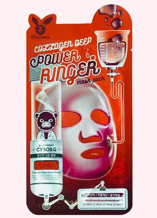 Маска коллагеновая elizavecca face care collagen deep power mask pack