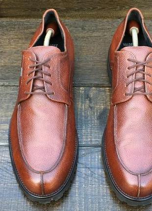 Lloyd valdez.кожаные мужские туфли с мембранной gore-tex.осенние туфли