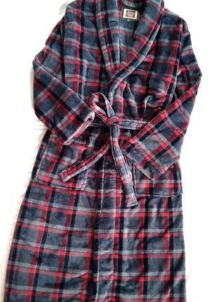 Portland signature dressing gown. халат домашний банный р m l