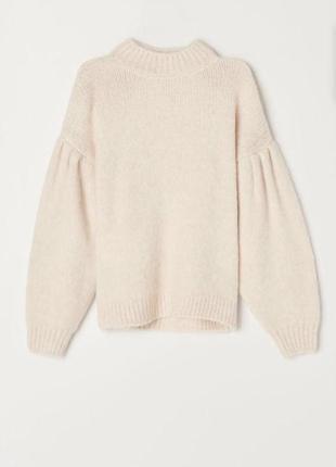 Кремовий светр mohito🤎