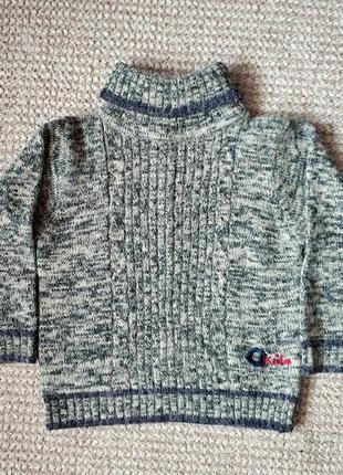 Теплый реглан, свитер, кофта на 2-3 годика