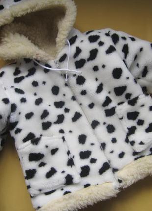 Натуральный мех овчины,шуба на 7-9лет