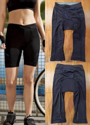 Велошорты женские crivit sports s m синие